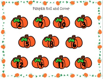 Pumpkin Roll and Color PACK