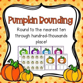 Pumpkin Rounding Activities!