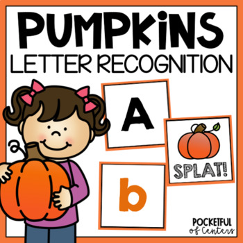 Pumpkin SPLAT! Letter Recognition Game