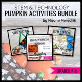 Pumpkin STEM Activities & Technology Lessons Bundle | Dist