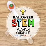 Pumpkin Catapult Halloween STEM Activity + TpT Digital Dis
