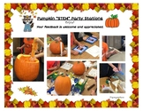 Pumpkin STEM Party Plans and Activity Cards
