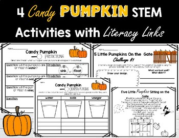 Pumpkin STEM and Literacy Linked Activities