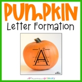 Pumpkin Sand Tray Uppercase & Lowercase Letters | Print