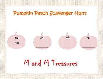 Pumpkin Scavenger Hunt