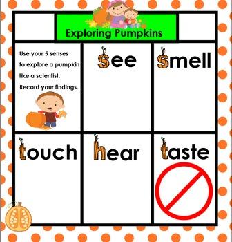 Pumpkin Science SMARTBOARD
