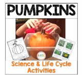 Pumpkin Life Cycle, Experiments and Writing for K-2