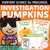 Pumpkin Science Activities for Preschool Prek & Kinder | P