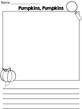 Pumpkin Science Craftivity (STEM/STEAM)
