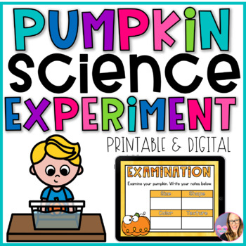 Pumpkin Science Experiment- Sink or Float?