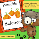 Pumpkin Science (Hands-on Activities)