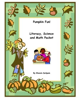 Pumpkin Science, Math and Literacy Packet