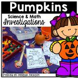 Pumpkin Math and Science: Pumpkin Investigation Book