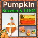 Pumpkin Science & STEM, Parts of a Pumpkin Word Wall Cards