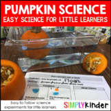Pumpkin Science - Science with Pumpkins for Kindergarten, preschool, and First