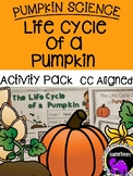 Pumpkin Science: The Life Cycle of a Pumpkin {Kindergarten/First Grade}