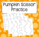 Pumpkin Scissor Practice