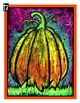 Pumpkin Scratch Art : Halloween and Fall Art Lesson Plan