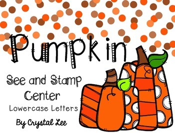 Pumpkin See and Stamp Center
