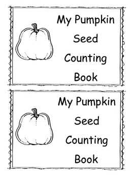 Pumpkin Seed Counting Book