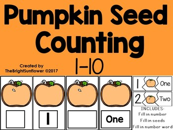 Pumpkin Seed Counting NUM 1-10