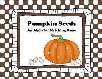 Pumpkin Seed Letters