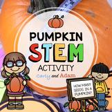 Pumpkin Investigation Halloween STEM Activity