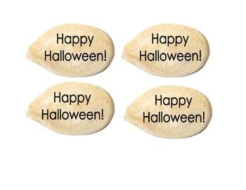 Pumpkin Seed Sight Word Game