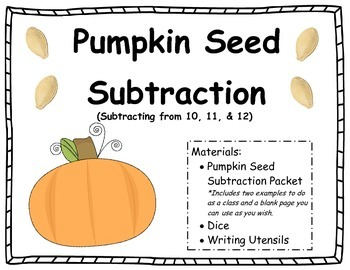 Pumpkin Seed Subtraction