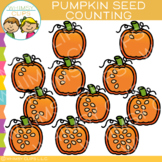 Pumpkin Seeds Counting Clip Art