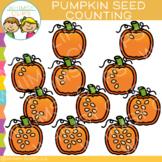 Pumpkin Seeds Counting Clip Art