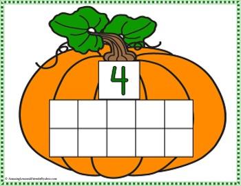 Pumpkin Seeds Counting Mats