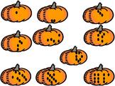 Pumpkin Seeds Number Match 1-20