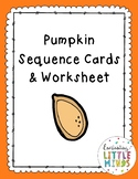 Pumpkin Sequence Cards & Worksheet