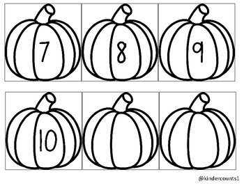 Pumpkin Sequencing 1-10 FREEBIE