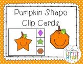Pumpkin Shape Clip Cards