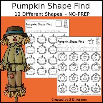 Pumpkin Shape Find