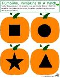 Pumpkin Shape Match