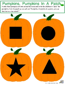 Pumpkin Shape Match