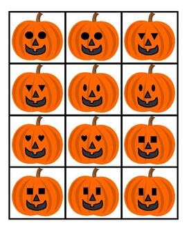 Pumpkin Shape Matching Game