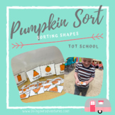 Pumpkin Shape Sort