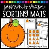 Pumpkin Shape Sorting Mats