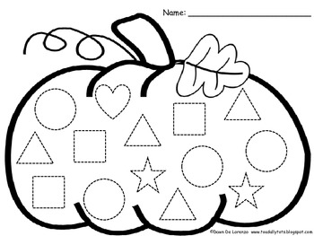 pumpkin shape trace count and graph freebie by teachingresourceresort. Black Bedroom Furniture Sets. Home Design Ideas
