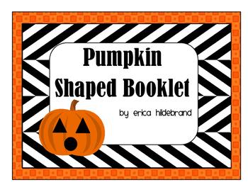 Pumpkin Shaped Booklet