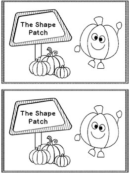 Pumpkin Shapes A Predictable Reader and Posters (Bundled)