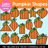 Pumpkin Shapes { Clip Art }