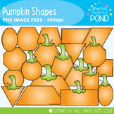 Pumpkin Shapes Clipart
