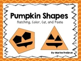 Pumpkin Shapes {Common Core Aligned}
