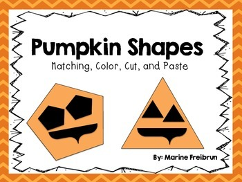 Pumpkin Shapes {Common Core Aligned}