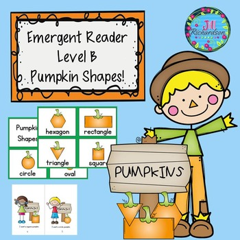 Fall Emergent Reader! (Guided Reading Level B) (ESL)